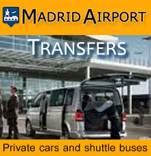 Private and shared transfers in Madrid Airport